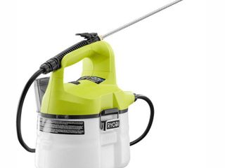 RYOBI ONE  18 Volt lithium Ion Cordless Chemical Sprayer 1 Gal    Battery and Charger Not Included   RETAIlS 54 97