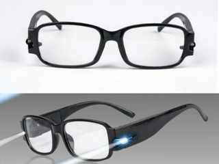 lED Magnifying Eyewear Sight Enhancing Bright Glasses   160  Magnificatio