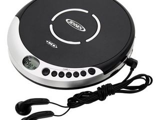 Jensen CD 60R Portable CD Player With Bass Boost