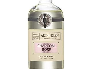 Archipelago Botanicals Charcoal Rose Diffuser  Refill  7 85 Fl Oz