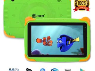 Contixo Kids Tablet K4 7  Display Android 6 0 Bluetooth WiFi Camera Parental Control for Children Infant Toddlers  Green  Retail PRICE  53 00