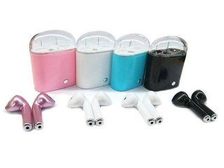 HBQ I7 TWS Wireless Earbuds Mini Bluetooth Headset Earphone with Charging Box