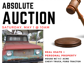 Absolute Auction : Real Estate & Personal Property Charlottesville VA