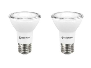 EcoSmart 50 Watt Equivalent PAR20 Dimmable Energy Star lED light Bulb Daylight  2 Pack