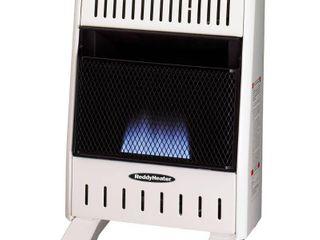 reddy heater 10 000 btu blue flame dual fuel wall heater   RETAIlS 119 99