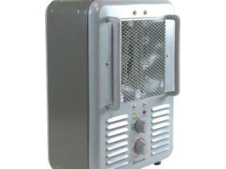 Comfort Zone CZ798 1500 Watt Milkhouse Utility Heater  Grey