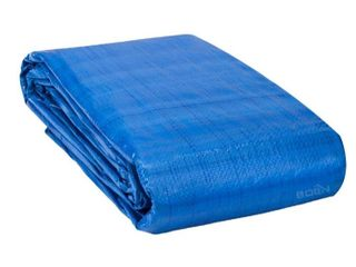 50ft x 100ft Blue Tarp Retail   216 29