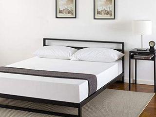 Zinus Trisha 7 Inch Platforma Bed Frame With Headboard   Mattress Foundation   B Retail   176 94
