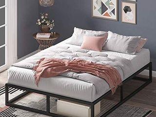 Zinus Joseph Platforma Queen Size Frame   Mattress Foundation Retail   132 00