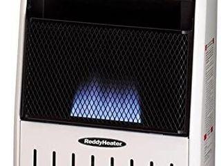 reddy heater 10 000 btu blue flame dual fuel wall heater