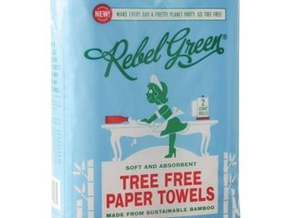 Rebel Green Tree Free Paper Towel 2 pack