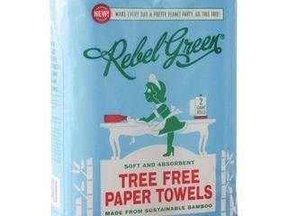 Rebel Green Tree Free Paper Towel 2 rolls pack of 2
