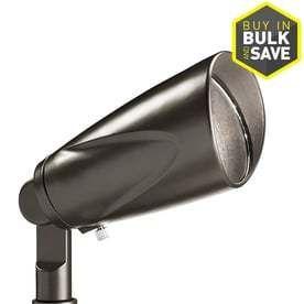 Kichler 3 Watt  12 Volt  150 lumen Olde Bronze low Voltage lED landscape Flood light   RETAIlS 43 48