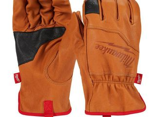 Milwaukee X large Goatskin leather Gloves  Brown Retail   20 97