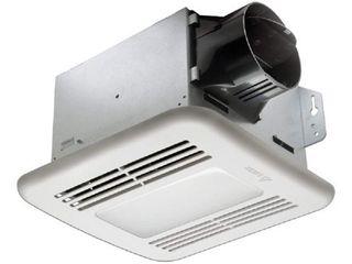 Delta Breez BreezGreenBuilder 100 CFM Energy Star Bathroom Fan with lED light   RETAIlS 120