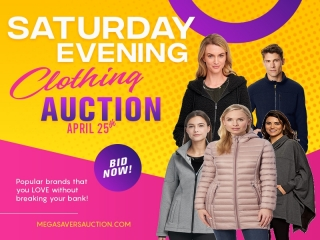 SUNDAY EVENING CLOTHING AUCTION APRIL 25 TH