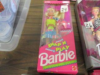 Barbie NIB Snap N Play