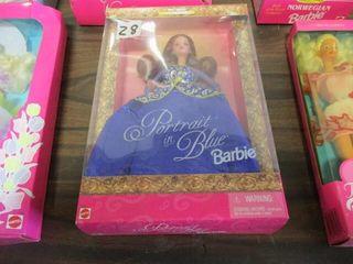 Barbie NIB Portrait In Blue
