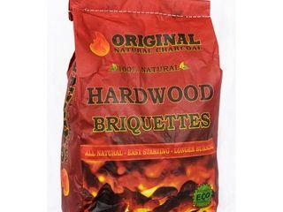 Natural Hardwood Charcoal Briquettes 4 bags Retail  100