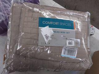 Comfort Spaces Kienna All Season lightweight Coverlet Bedspread Bedding Match