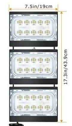 STASUN lED Flood light  150W 13500lm Security lights