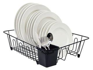 SAlTa large Dish Rack in Black