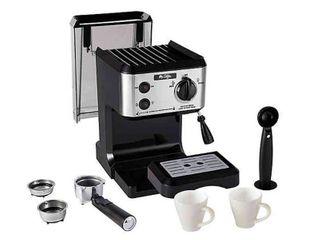 Mr  Coffee 19 Bar Pump Espresso Machine   a Mr  Coffee 19 Bar Pump Espresso Machine Retail PRICE  116 00