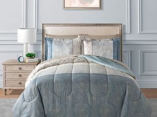 Sasha 8 Piece Reversible Comforter Set Queen retail price  99 99