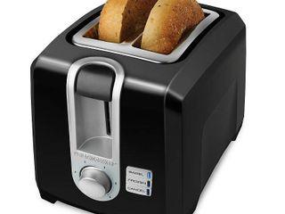 Black   Decker 2 Slice Extra Wide Slot Toaster