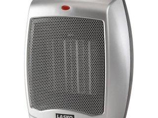 lasko Electric Ceramic Heater  1500W  Silver  754200