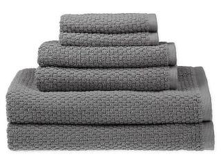 SAlTAr Quick Dry 6 Piece Towel Set in Castlerock