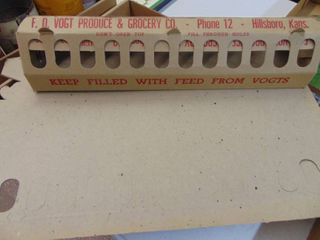 Cardboard Chicken Feeders