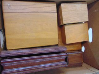 A large of Wooden Boxes