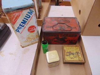Metal Tins and Misc