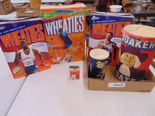 Wheaties Boxes and More