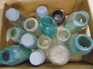large Box of Canning Jars