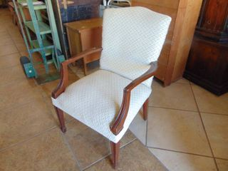 Parlor Chair   Upholstered