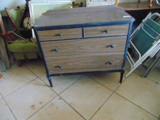 Metal 3 Drawer Dresser