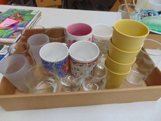 Vintage Tupperware cups and more