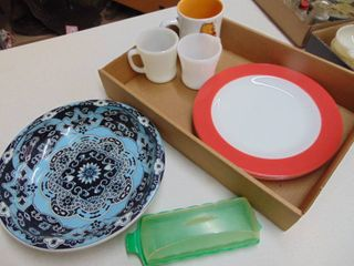 Fire King Coffee Mugs  Pyrex Plates and More