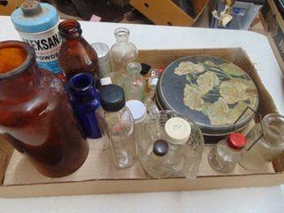 Vintage Medicine and Misc  Bottles