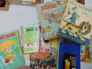 A lot of Vintage Children s Books
