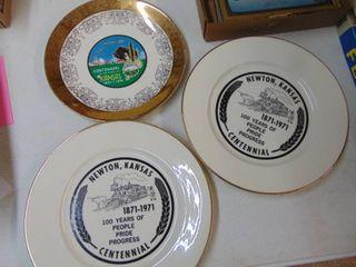 Kansas Glass Plates
