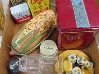 Canning Jar Seals  Pfaltzgraff Corn Butter Dish and More
