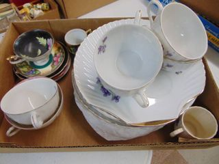 Made in Japan Dishes and Tea cups