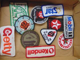 A lot of Patches