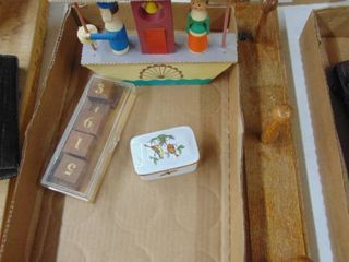 Wooden Musical Toy  Manicure set and More