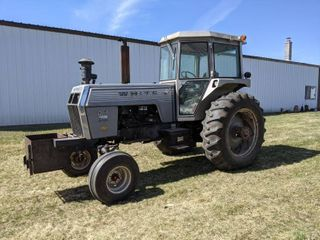Marshall MN Farm Auction - White 2-105 Field Boss Tractor, Oliver 60, 77 and Super 88 Tractors, Antique Implements, Large