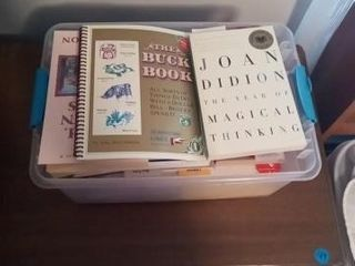MISC BOX OF BOOKS
