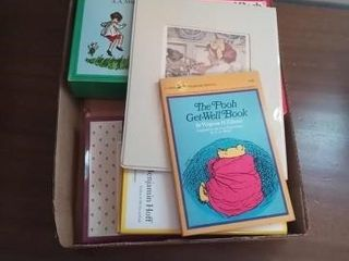 MISC WINNIE THE POOH BOOKS AND TWO HUMMEl PHOTOS